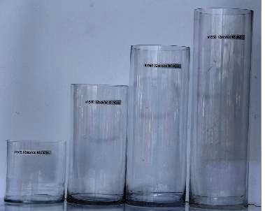 GLVASE Cylinder Gl Vase X on silver vases, 4x4 vases, red vases, black vases, white vases, blue vases, tall frosted vases,
